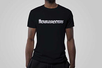 Troubleshooters T-shirt Black (PRE-ORDER)