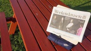 Book Seat : Tidningsplatta