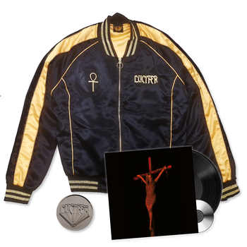 LUCIFER - LUCIFER IV, SATIN BUNDLE (LP VINYL+JACKET+PIN)