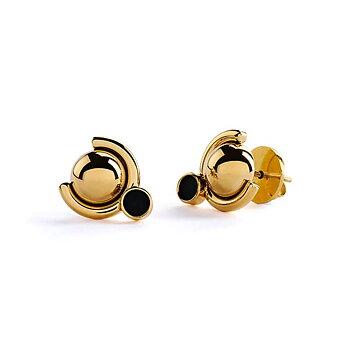 Satellite E4 Golden Earrings