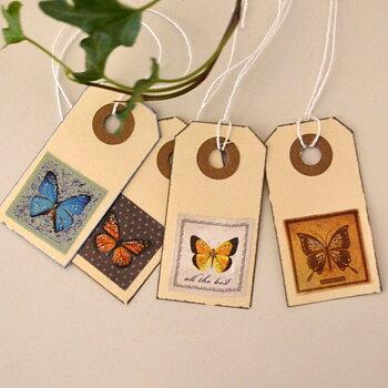 Tags - fjärilar