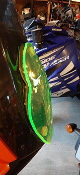 Gult glas till KTM 1190