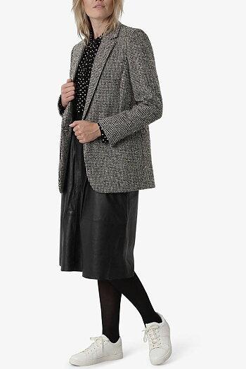 Noa Noa - Autumn Tweed Jacket Art Brown