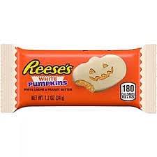 Reese's white chocolate pumpkin peanut butter cups