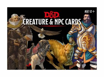 Dungeon & Dragons: Monster Cards - NPCs & Creatures (182 cards)