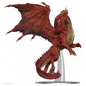 D&D Icons of the Realms Miniatures: Adult Red Dragon