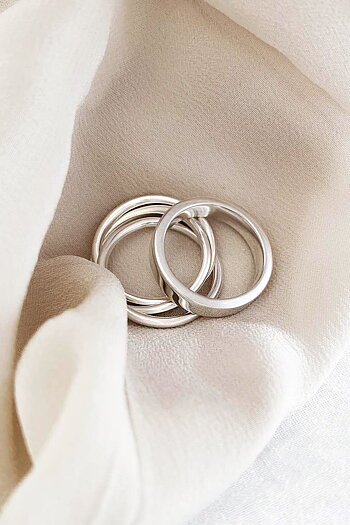 MILA COMBO 5 mm ring + 3 in one ring