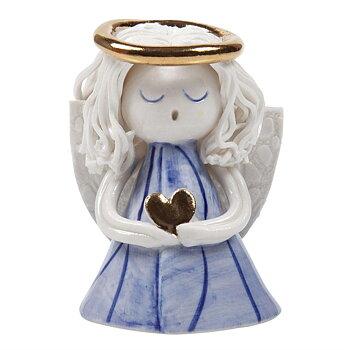 Ängel Bianca Blå , 6,5 cm