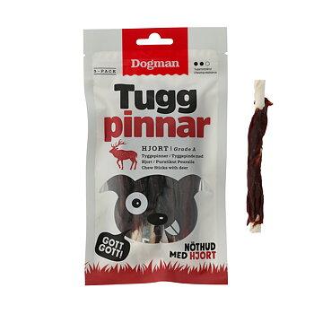 Dogman Tuggpinnar Hjort 12.5cm, 5-pack