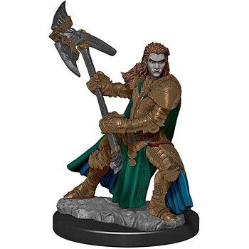 D&D Premium Painted Figure: Female Half-Orc Fighter
