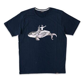 Lakor Soulwear Orca Express T-Shirt Blueberry