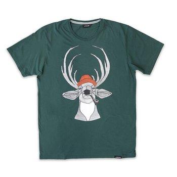 Lakor Soulwear Deer T-Shirt Dark Green