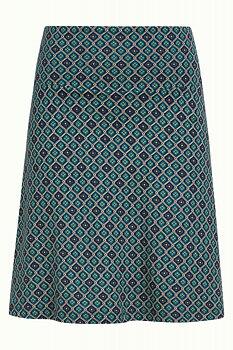Border skirt Carlisle Peacoat Blue
