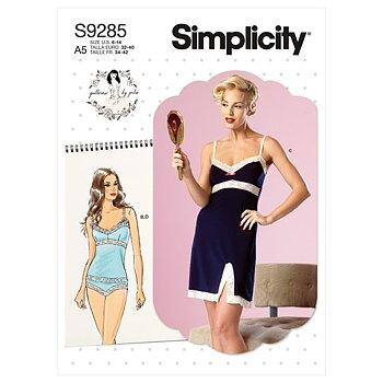 S9285 - Camisole, slip & panties