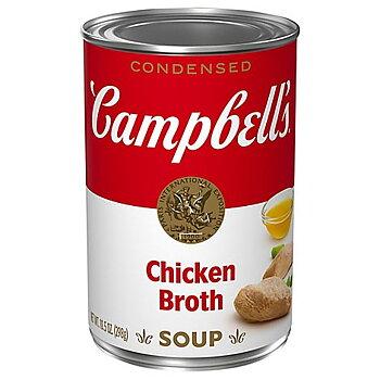 Campbell's chicken broth