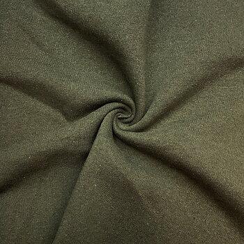 Recycled sweatshirt fabric Green melange