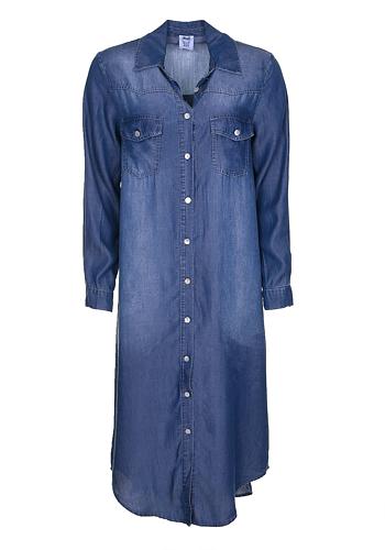 Jeansskjorta Maxi - Dark Blue