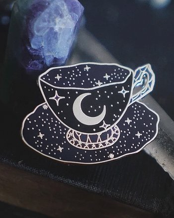 Cup of Stars - Pin