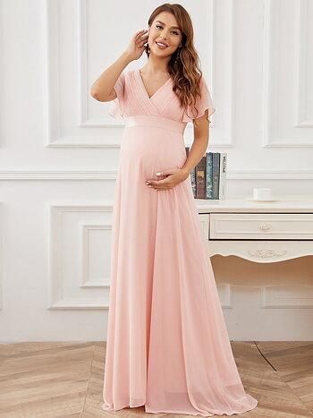Gravid balklänning