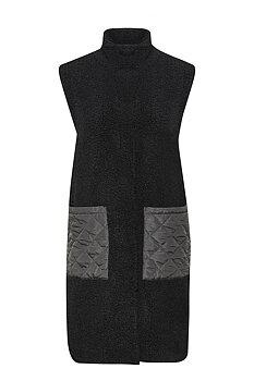 KAphoebe Waist Coat Black KAFFE