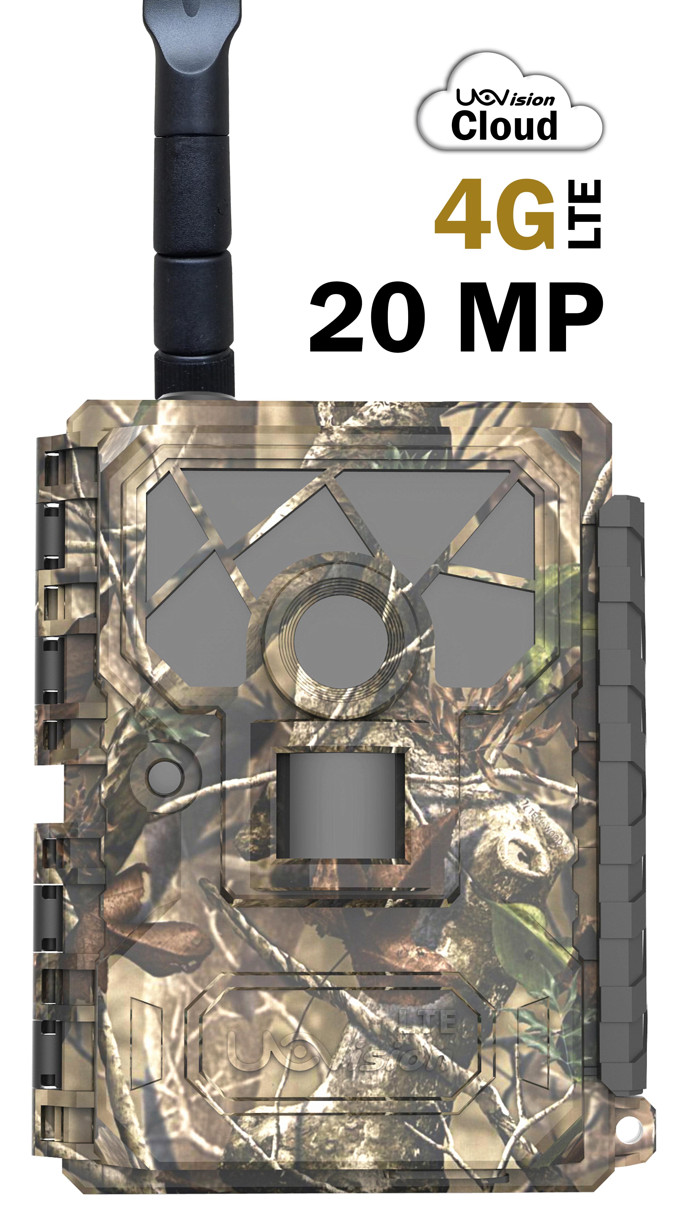 Åtelkamera UOVision Glory 4G/LTE 20mp - Cloud-App