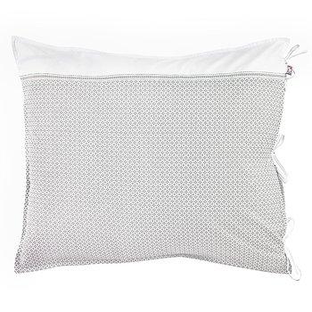 Pillow Case Destiny White/Grey