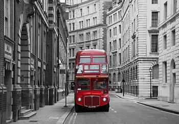 Fototapet London buss