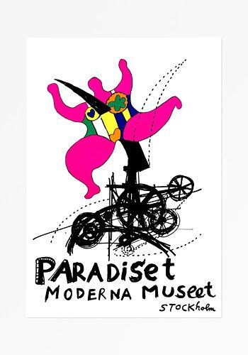 Poster, Niki de Saint Phalle, Paradiset