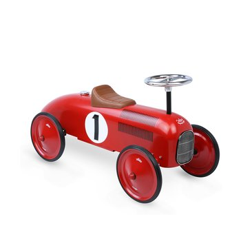 Scoot-along Vintage red