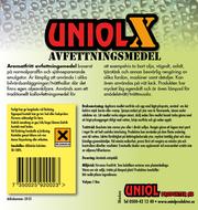 Uniol X Aromatfritt avfettningsmedel 5L