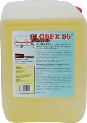 Globex 80 Husvagnstvätt 20 liter