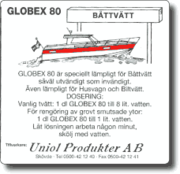Globex 80 Båttvätt 10 Liter