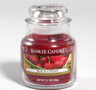 Black Cherry, Small jar, Yankee Candle