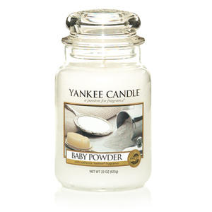 Baby Powder, Large Jar, Yankee Candle