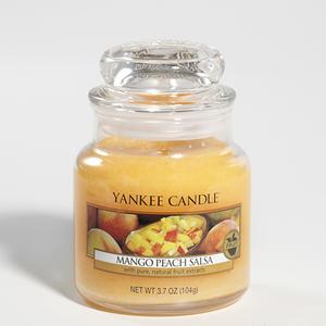 Mango Peach Salsa, Small jar, Yankee Candle