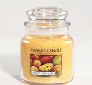 Mango Peach Salsa, Medium Jar, Yankee Candle