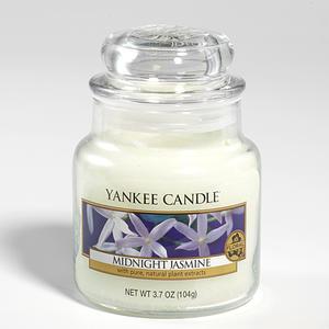 Midnight Jasmine, Small Jar, Yankee Candle