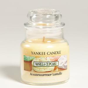Vanilla Cupcake, Small jar, Yankee Candle