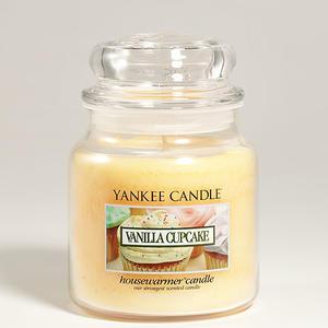 Vanilla Cupcake, Medium Jar, Yankee Candle