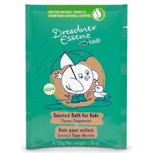 Dirty Birdie, Thyme & Peppermint  badpulver för barn, Dresdner Essenz