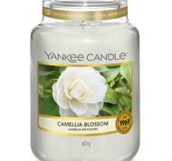 Camelia Blossom, Large Jar, Yankee Candle