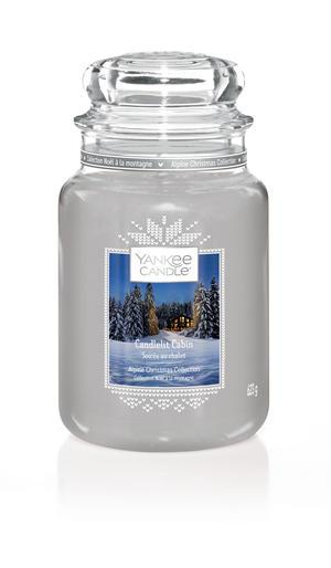 Candlelit Cabin, Large Jar, Yankee Candle