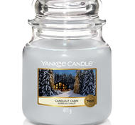 Candlelit Cabin,  Medium Jar, Yankee Candle