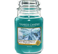 Icy Blue Spruce, Large Jar, Yankee Candle