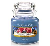 Mulberry & Fig Delight, Small Jar, Yankee Candle