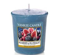 Mulberry & Fig Delight, Votivljus / Samplers, Yankee Candle
