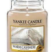 Warm Cashmere, Large Jar, Yankee Candle
