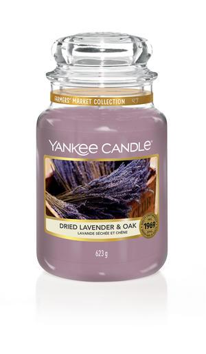 Dried Lavender & Oak, Large Jar, Yankee Candle