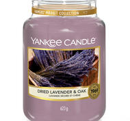 Dried Lavender & Oak, Large Jar, Yankee Candle