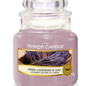 Dried Lavender & Oak,  Small Jar, Yankee Candle